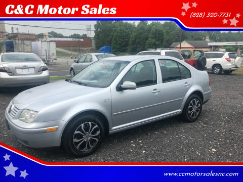 2003 Volkswagen Jetta for sale at C&C Motor Sales LLC in Hudson NC