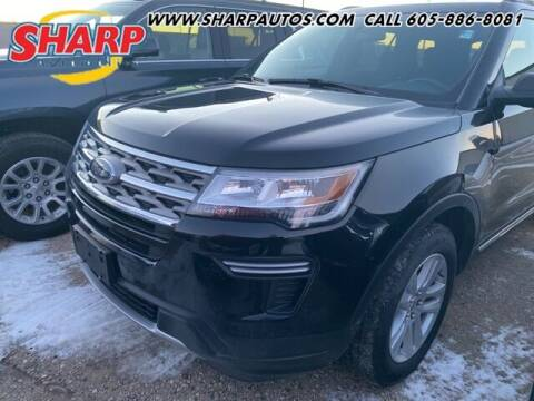 2018 Ford Explorer for sale at Sharp Automotive in Watertown SD