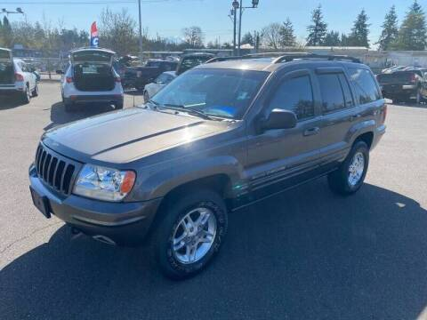 2000 Jeep Grand Cherokee for sale at TacomaAutoLoans.com in Lakewood WA