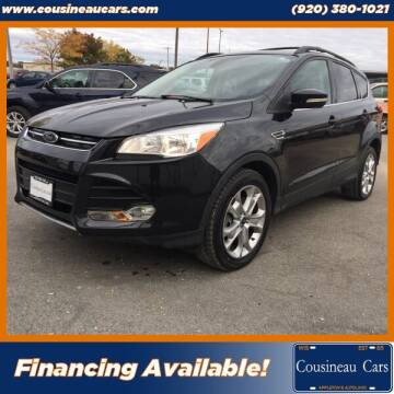 2013 Ford Escape for sale at CousineauCars.com in Appleton WI