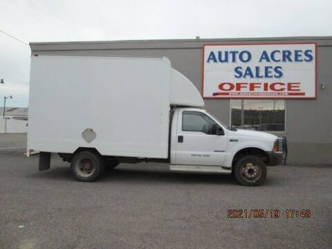 2000 Ford F-550 Super Duty for sale at Auto Acres in Billings MT