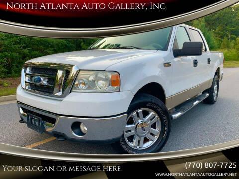 2008 Ford F-150 for sale at North Atlanta Auto Gallery, Inc in Alpharetta GA