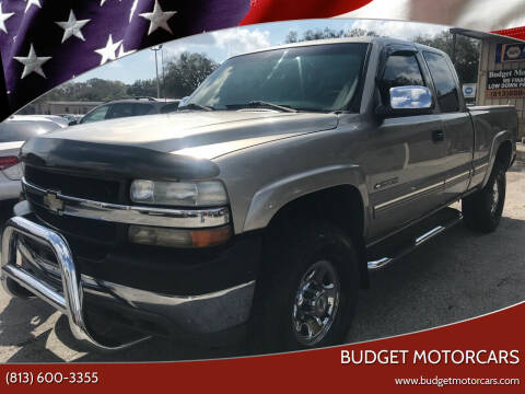 2002 Chevrolet Silverado 2500HD for sale at Budget Motorcars in Tampa FL
