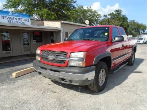 2004 Chevrolet Silverado 1500 for sale at New Gen Motors in Lakeland FL