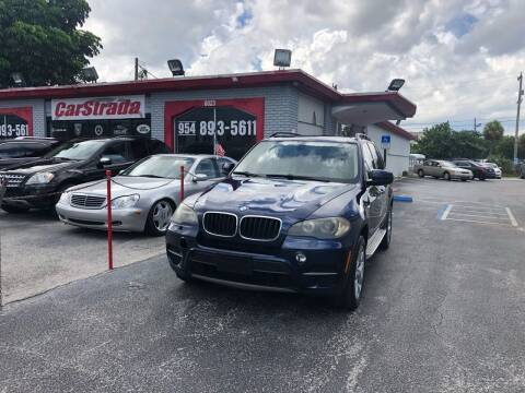 2011 BMW X5 for sale at CARSTRADA in Hollywood FL