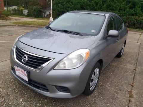 2012 Nissan Versa for sale at Hilton Motors Inc. in Newport News VA