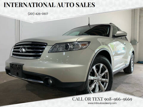 2008 Infiniti FX35 for sale at International Auto Sales in Hasbrouck Heights NJ