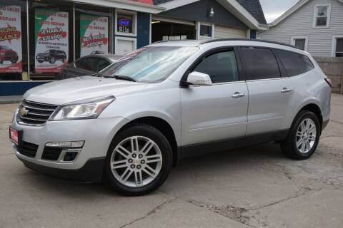 2015 Chevrolet Traverse for sale at Cass Auto Sales Inc in Joliet IL