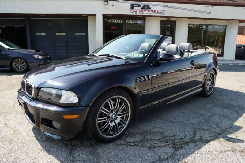 2003 BMW M3 for sale at PA Motorcars in Conshohocken PA