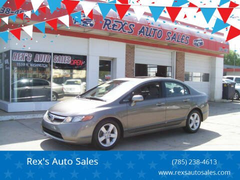 2006 Honda Civic for sale at Rex's Auto Sales in Junction City KS