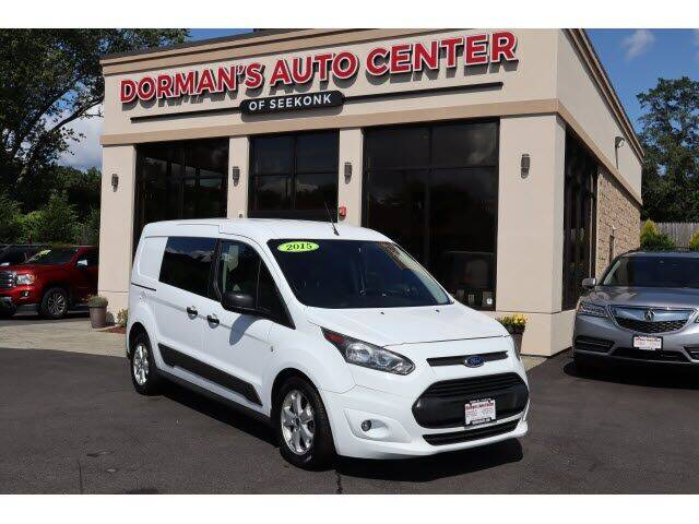 2015 Ford Transit Connect Cargo for sale at DORMANS AUTO CENTER OF SEEKONK in Seekonk MA
