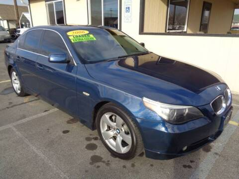 2006 BMW 5 Series for sale at BBL Auto Sales in Yakima WA