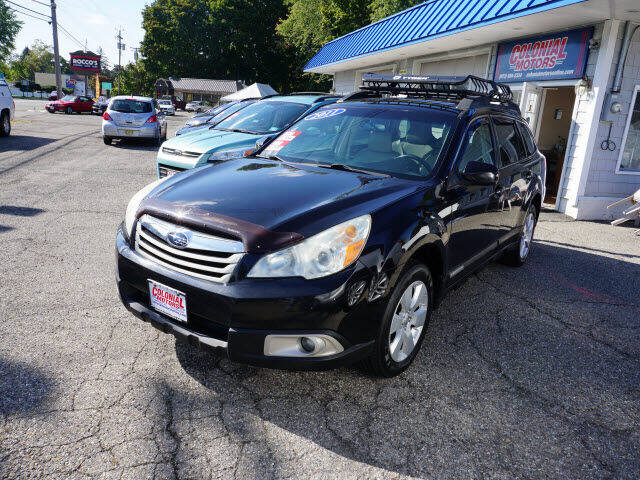 2011 Subaru Outback for sale at Colonial Motors in Mine Hill NJ