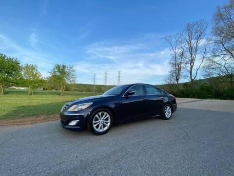2012 Hyundai Genesis for sale at Tennessee Valley Wholesale Autos LLC in Huntsville AL