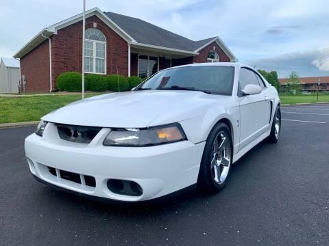 2004 Ford Mustang SVT Cobra for sale at HillView Motors in Shepherdsville KY