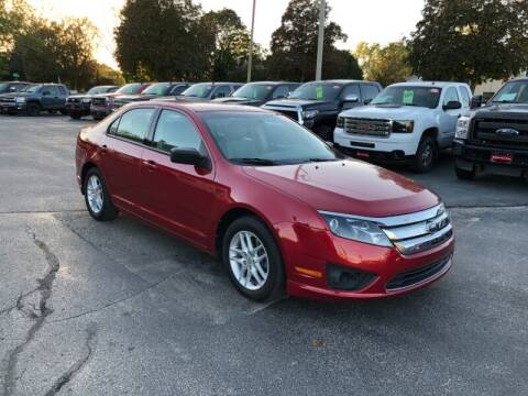 2012 Ford Fusion for sale at WILLIAMS AUTO SALES in Green Bay WI