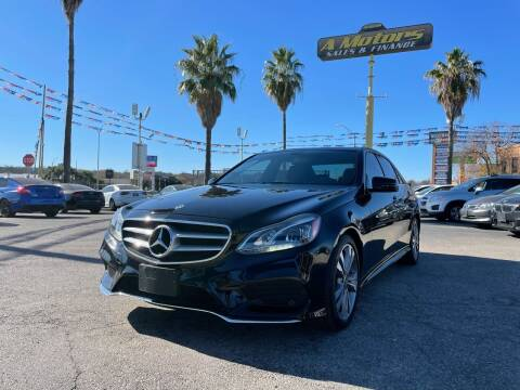 2014 Mercedes-Benz E-Class for sale at A MOTORS SALES AND FINANCE - 5630 San Pedro Ave in San Antonio TX
