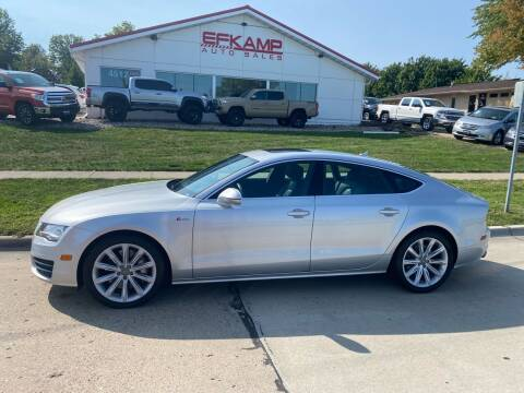 2014 Audi A7 for sale at Efkamp Auto Sales LLC in Des Moines IA