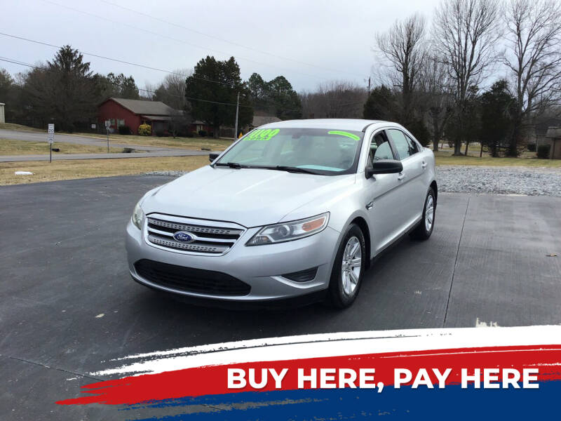 2012 Ford Taurus for sale at Choice Auto Sales LLC - Buy Here Pay Here in White House TN