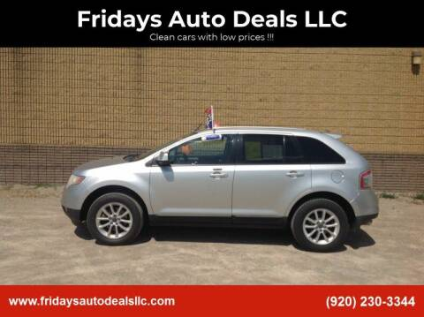 2010 Ford Edge for sale at Fridays Auto Deals LLC in Oshkosh WI