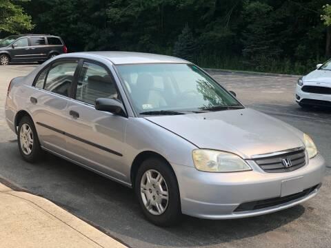 2001 Honda Civic for sale at Elite Auto Sales in North Dartmouth MA