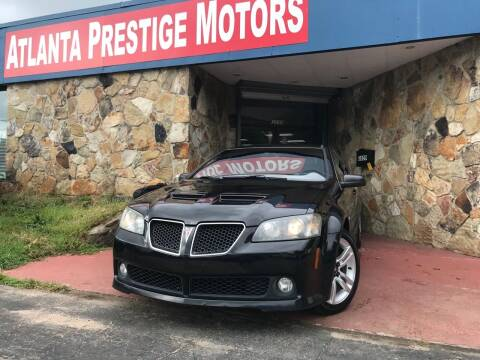 2008 Pontiac G8 for sale at Atlanta Prestige Motors in Decatur GA