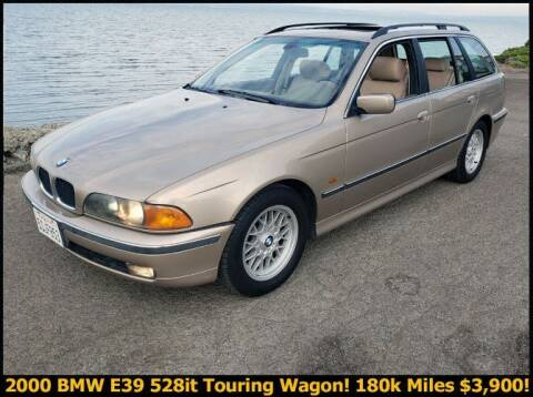 1999 BMW 528it for sale at Classic Car Deals in Cadillac MI