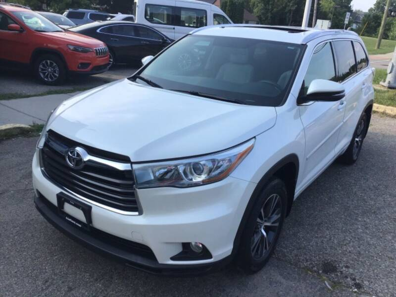 2016 Toyota Highlander for sale at One Price Auto in Mount Clemens MI