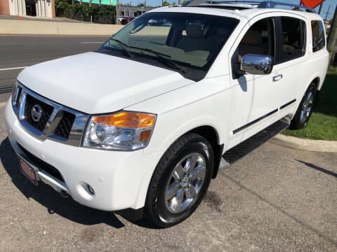 2011 Nissan Armada for sale at STATE AUTO SALES in Lodi NJ