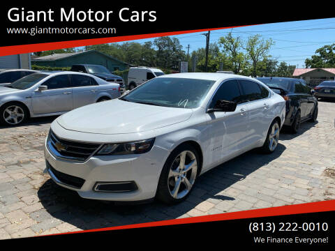 2015 Chevrolet Impala for sale at Giant Motor Cars in Tampa FL
