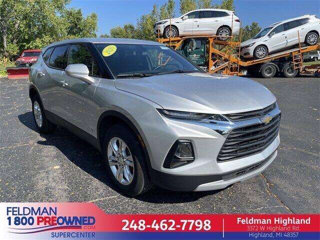 2020 Chevrolet Blazer for sale in Highland, MI