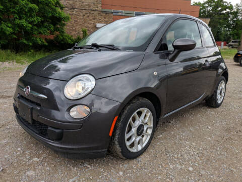 2015 FIAT 500 for sale at DILLON LAKE MOTORS LLC in Zanesville OH