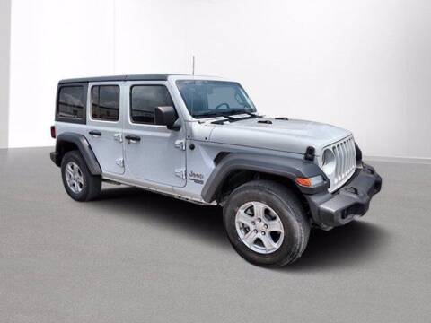 2018 Jeep Wrangler Unlimited for sale at Jimmys Car Deals at Feldman Chevrolet of Livonia in Livonia MI