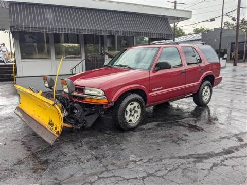 2002 Chevrolet Blazer for sale at GAHANNA AUTO SALES in Gahanna OH