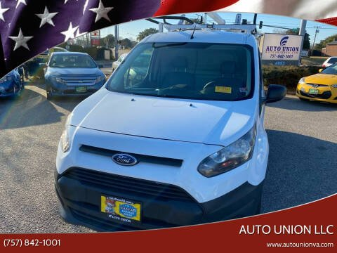 2014 Ford Transit Connect Cargo for sale at Auto Union LLC in Virginia Beach VA