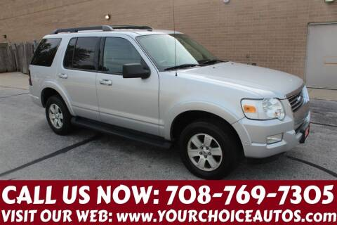 2010 Ford Explorer for sale at Your Choice Autos in Posen IL