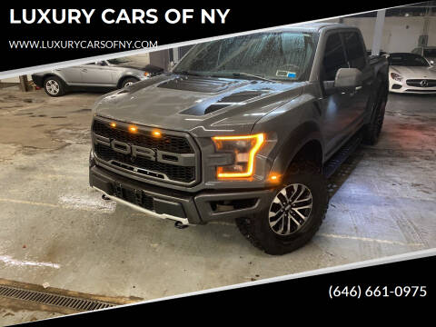 2018 Ford F-150 for sale at LUXURY CARS OF NY in Queens NY