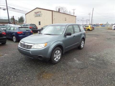 2009 Subaru Forester for sale at Terrys Auto Sales in Somerset PA