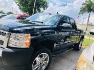 2012 Chevrolet Silverado 1500 for sale at DAN'S DEALS ON WHEELS AUTO SALES, INC. in Davie FL