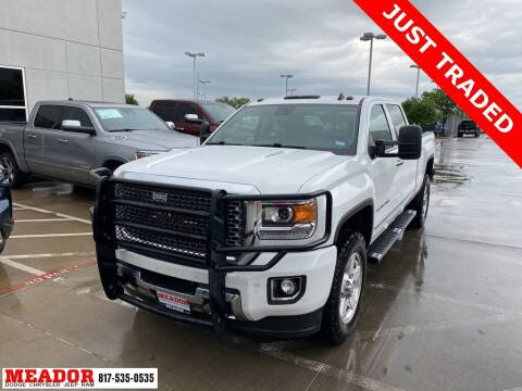 2015 GMC Sierra 2500HD for sale at Meador Dodge Chrysler Jeep RAM in Fort Worth TX