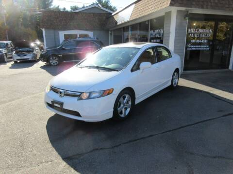 2008 Honda Civic for sale at Millbrook Auto Sales in Duxbury MA