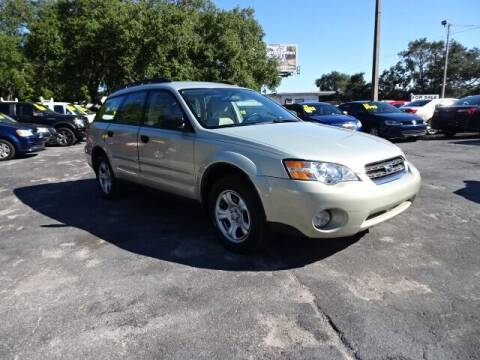 2007 Subaru Outback for sale at DONNY MILLS AUTO SALES in Largo FL
