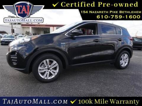 2017 Kia Sportage for sale at Taj Auto Mall in Bethlehem PA