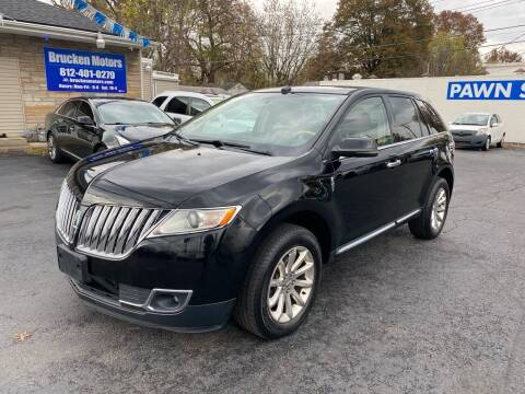 2012 Lincoln MKX for sale at Brucken Motors in Evansville IN