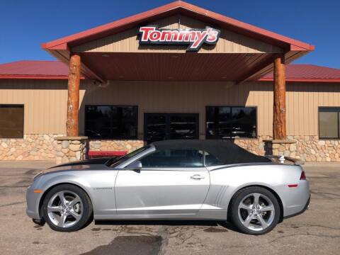 2015 Chevrolet Camaro for sale at Tommy's Car Lot in Chadron NE