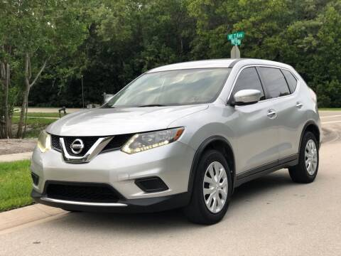 2014 Nissan Rogue for sale at L G AUTO SALES in Boynton Beach FL