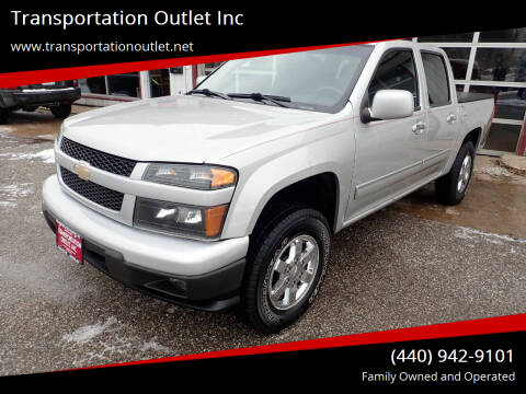 2011 Chevrolet Colorado for sale at Transportation Outlet Inc in Eastlake OH