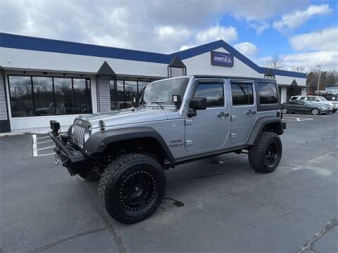 2013 Jeep Wrangler Unlimited for sale at Impex Auto Sales in Greensboro NC