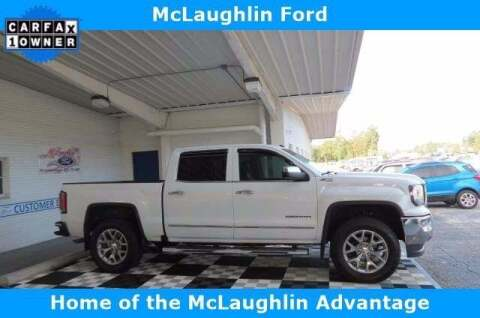 2018 GMC Sierra 1500 for sale at McLaughlin Ford in Sumter SC