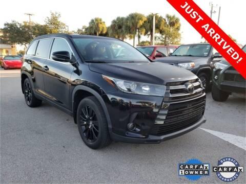 2019 Toyota Highlander for sale at PHIL SMITH AUTOMOTIVE GROUP - Toyota Kia of Vero Beach in Vero Beach FL